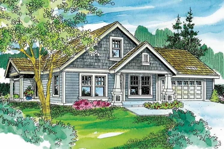 Cottage House Plan - Spangler 99797 - Front Exterior