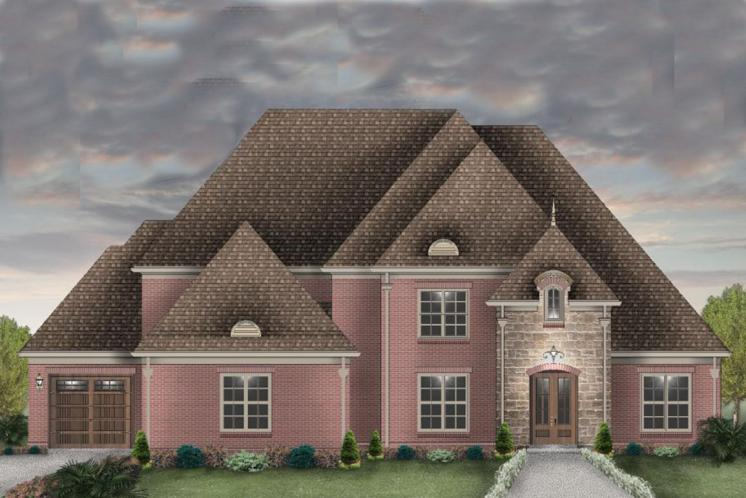 Classic House Plan -  99800 - Front Exterior