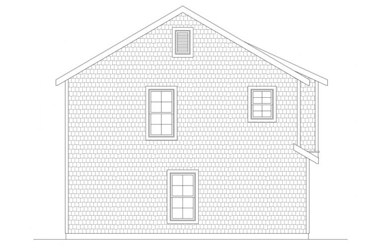 Traditional Garage Plan -  99994 - Left Exterior
