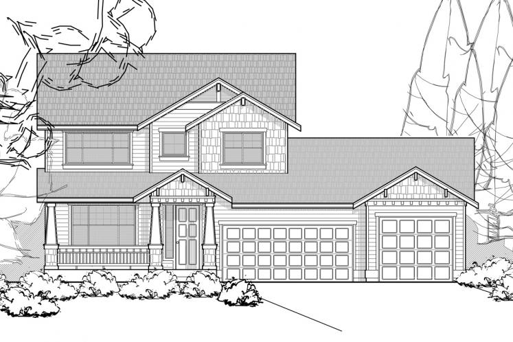 Farmhouse House Plan -  88743 - Front Exterior