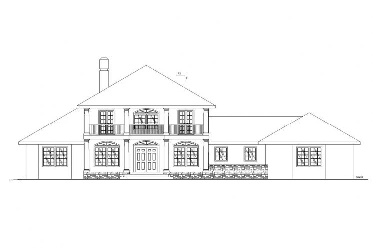 Southern House Plan -  78962 - Front Exterior