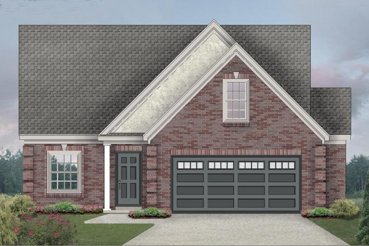 Traditional House Plan -  33857 - Front Exterior
