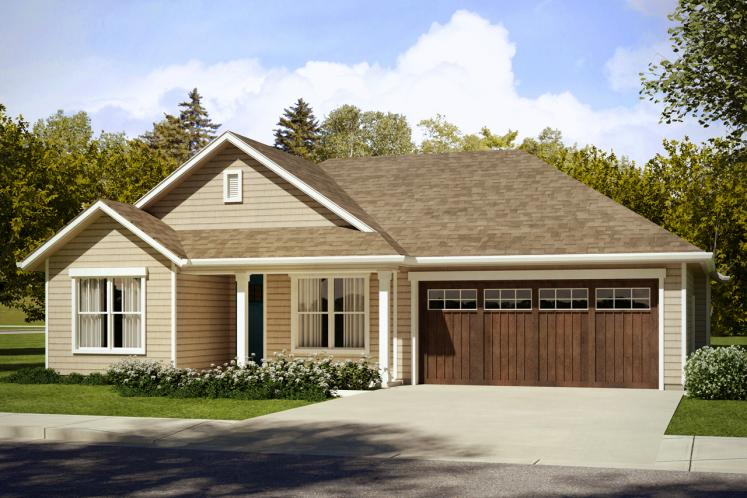 Ranch House Plan - Eastgate 29046 - Front Exterior