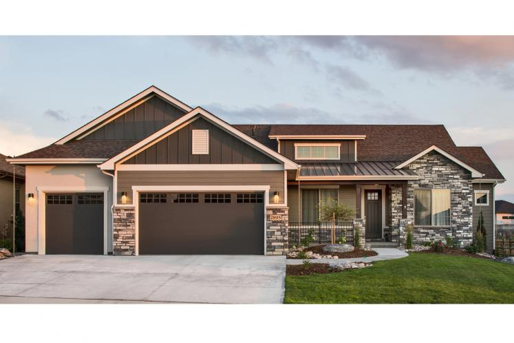 Ranch House Plan - Galeton 61596 - Front Exterior