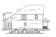 Traditional House Plan - Rivermonth 24527 - Left Exterior