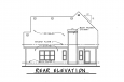 Farmhouse House Plan - Rivermonth 24527 - Rear Exterior