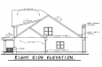 Country House Plan - Rivermonth 24527 - Right Exterior