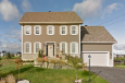 Colonial House Plan - Ellington 85013 - Front Exterior